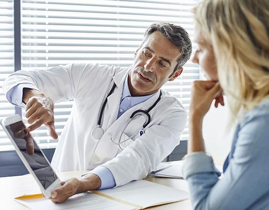 Einen Arzt finden